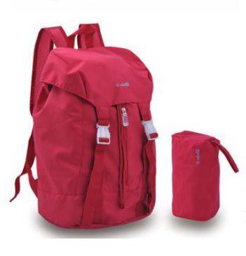 Skládací batoh Dielle Lybra 375-02 červená E-batoh