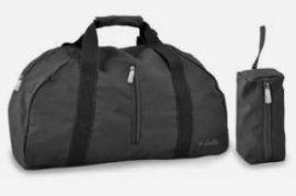 Skládací cestovní taška Dielle Lybra 372-01 černá