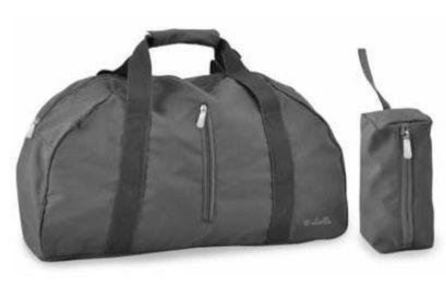 Skládací cestovní taška Dielle Lybra 373-13 šedá