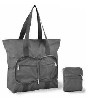 Skládací nákupní taška Dielle Lybra 371-13 šedá