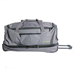 Travelite Basics Wheeled duffle L Grey/green