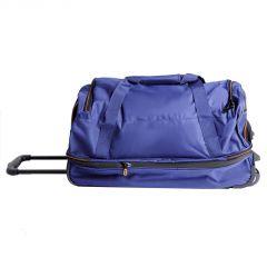Travelite Basics Wheeled duffle S Navy/orange E-batoh