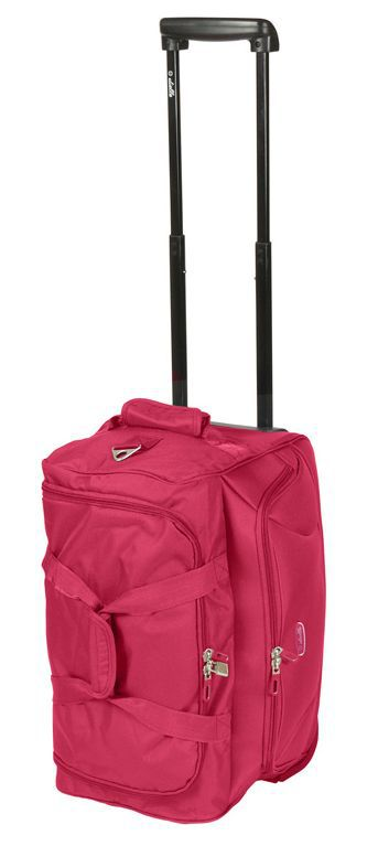 Cestovní taška Dielle 475-02 červená