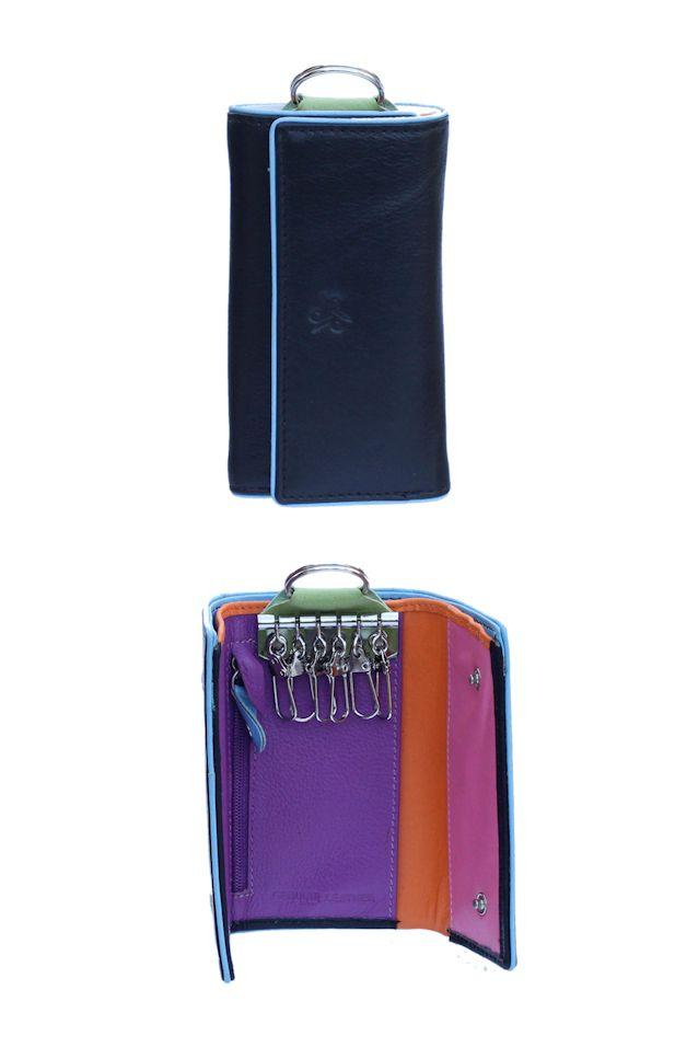 Klíčenka Carraro Neon 860-NN-01 černá