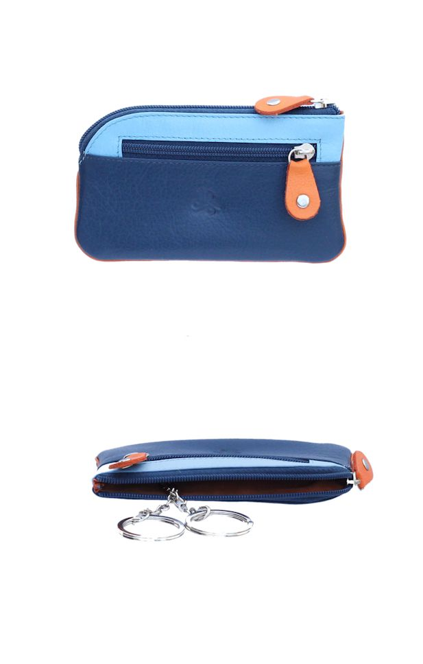 Klíčenka Carraro Neon 861-NN-05 modrá