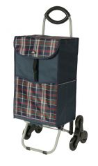 Nákupní taška na kolečkách Dielle CARR3-05 modrá