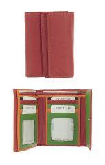 Peněženka Carraro  Multicolour 833-MU-02 červená