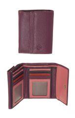 Peněženka Carraro  Multicolour 833-MU-30 fuchsiová