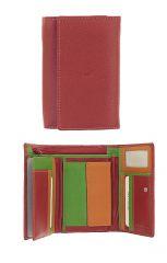 Peněženka Carraro Multicolour 838-MU-02 červená