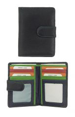 Peněženka Carraro Multicolour 839-MU-01 černá