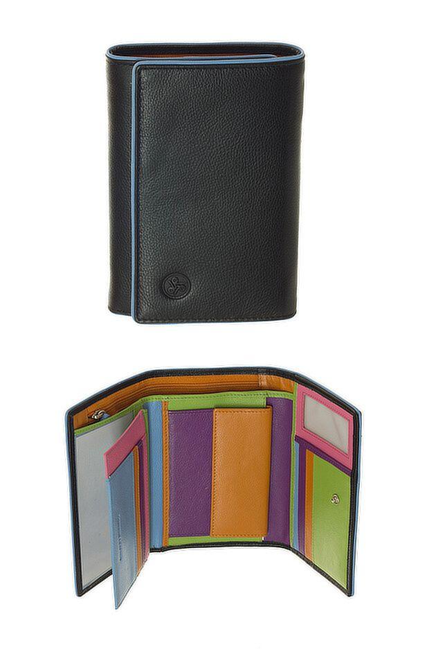 Peněženka Carraro Neon 854-NN-01 černá