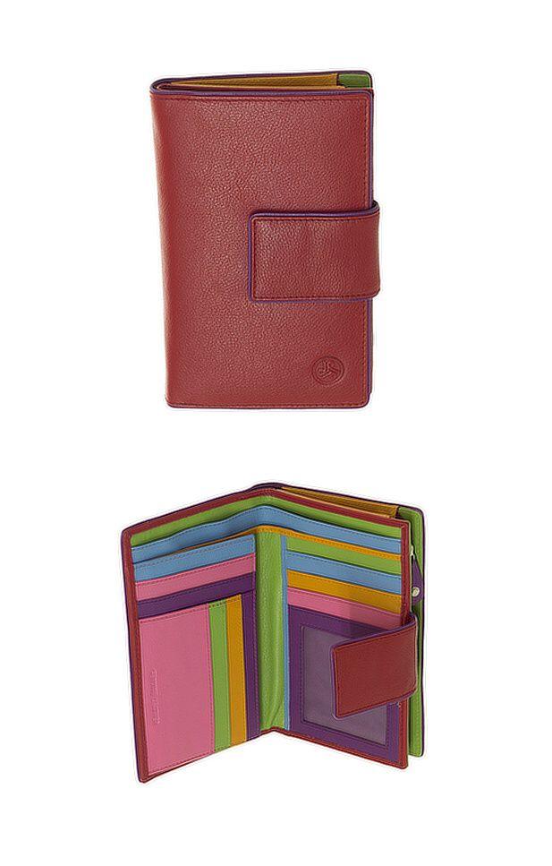 Peněženka Carraro Neon 855-NN-02 červená