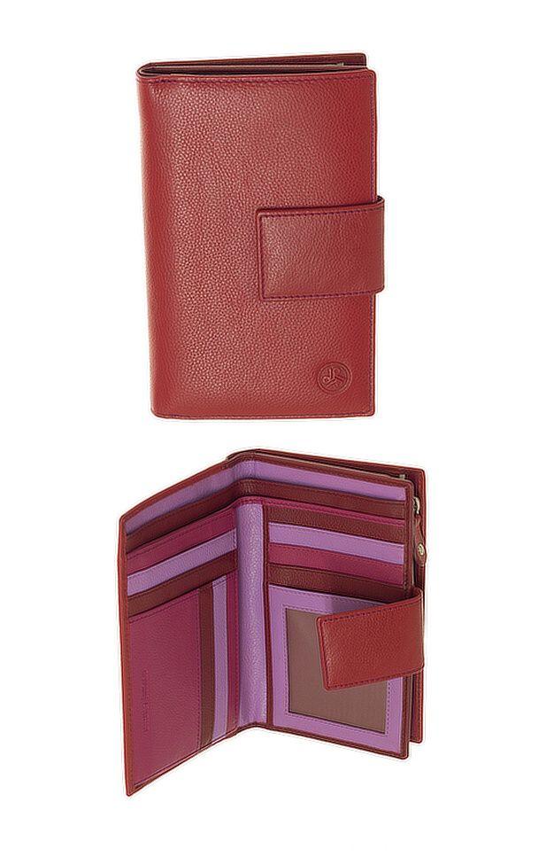 Peněženka Carraro Rainbow 561-RA-02 červená
