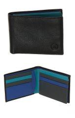 Peněženka Carraro Rainbow 570-RA-05 modrá