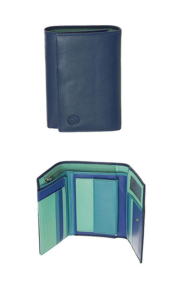 Peněženka Carraro Rainbow 572-RA-05 modrá