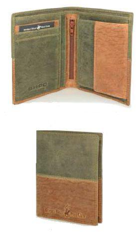 Peněženka pánská BHPC Oklahoma BH-263-33 zelená