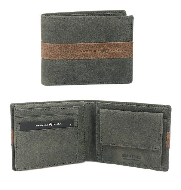 Peněženka pánská BHPC Texas BH-272-23 antracitová