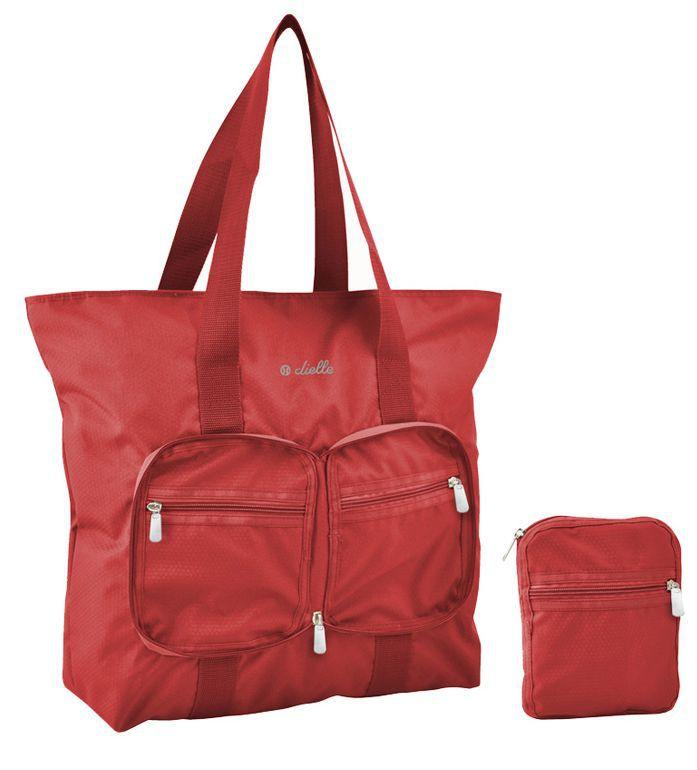 Skládací nákupní taška Dielle Lybra 371-02 červená