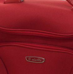 Kosmetický kufr Dielle 471-B-02 červená E-batoh