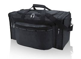 Travelite Minimax Foldable Travel Bag S Black E-batoh
