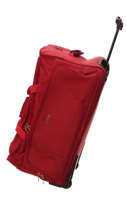 Cestovní taška Dielle 476-02 červená