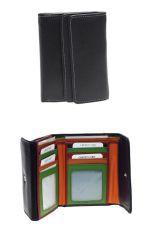 Peněženka Carraro  Multicolour 833-MU-01 černá
