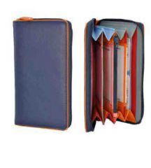Peněženka Carraro Neon 849-NN-05 modrá