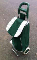 Nákupní  taška na kolečkách Barva: Zelená