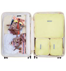 Sada obalů SUITSUIT® Perfect Packing system vel. M Mango Cream E-batoh