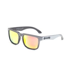 Sluneční brýle Meatfly Viper Sunglasses C - Black, Grey, Orange POLARIZED