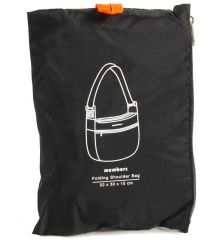 Taška skládací MEMBER'S SB-0046 - černá E-batoh