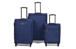 Trolley-CASE TC-888 4w sada 3 kufru modrý