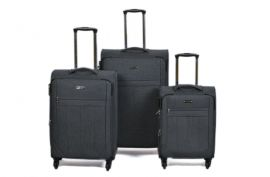 Trolley-CASE TC-888 4w sada 3 kufru šedý