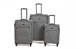 Trolley-CASE TC-888 4w sada 3 kufru svět.-šedý