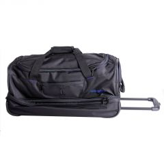 Travelite Basics Wheeled duffle S Black/blue