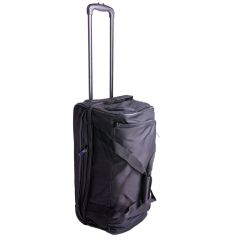Travelite Basics Wheeled duffle S Black/blue E-batoh