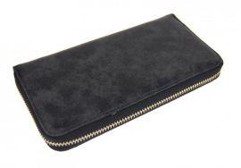 Praktická dámská černá peněženka 030