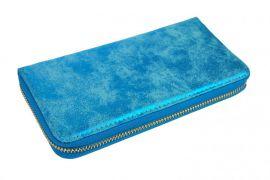 Praktická dámská peněženka 030 modrá patina