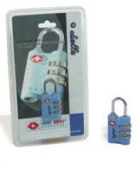 Kombinační zámek TSA Dielle AV-06-05 modrá