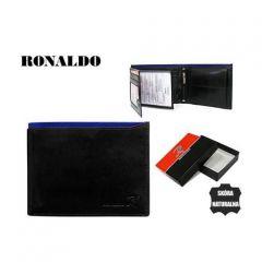 Pánská peněženka Ronaldo N992-VT BLACK