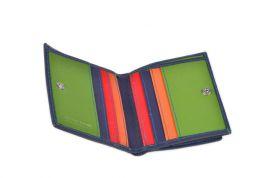 Peněženka Carraro Neon 845-NN-05 modrá E-batoh