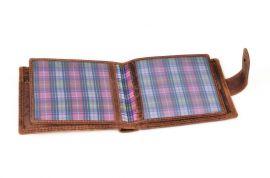 Peněženka pánská 304 HUNTERS tabaková v krabičce na patent E-batoh