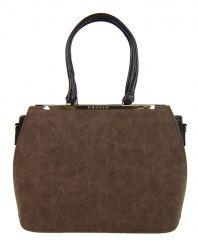 Hnědá dámská elegantní kabelka S700 GROSSO