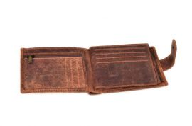 Peněženka pánská 304 BL HUNTERS black v krabičce na patent E-batoh