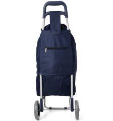 Nákupní taška na kolečkách HOPPA ST-40 - modrá E-batoh