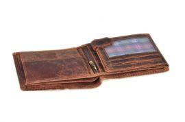 Peněženka pánská 324 BL HUNTERS black v krabičce na patent E-batoh