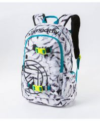 BATOH MEATFLY BASEJUMPER 3 20L N - FEATHER WHITE PRINT