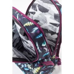 BATOH MEATFLY PURITY 26L B - BLACK FEATHER PRINT E-batoh