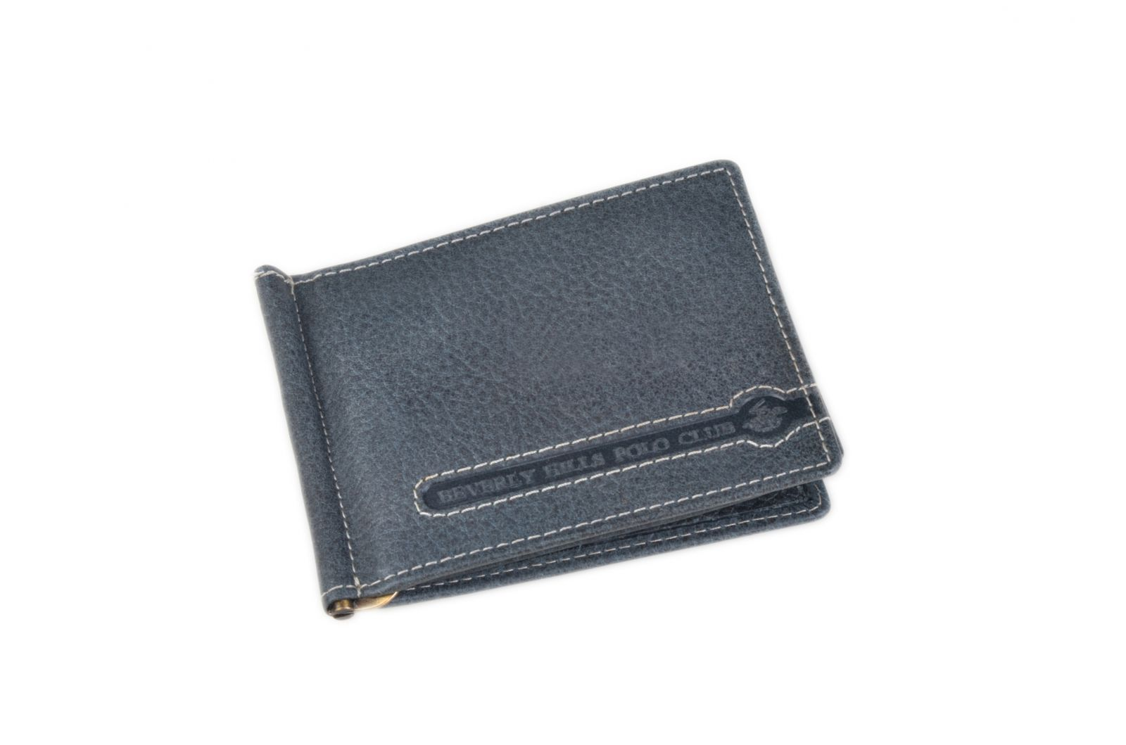 Celokožená pánská peněženka / dolarovka BHPC Tucson BH-398-05 modrá