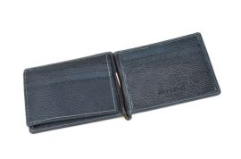 Celokožená pánská peněženka / dolarovka BHPC Tucson BH-398-05 modrá Beverly Hills E-batoh
